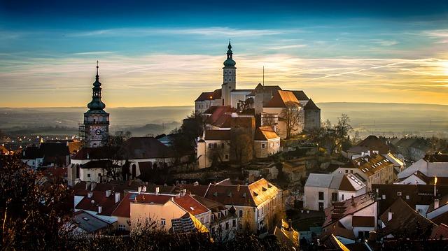 małe romantyczne miasta